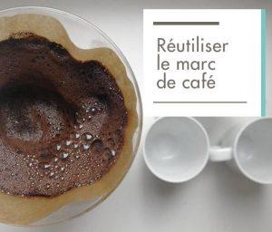 Filtre avec marc de café
